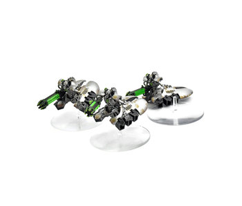 NECRONS 3 Necron Destroyer Squadron #1 WELL PAINTED 40K Squad destroyers