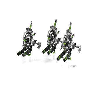 NECRONS 3 Tomb blades #1 WELL PAINTED 40K