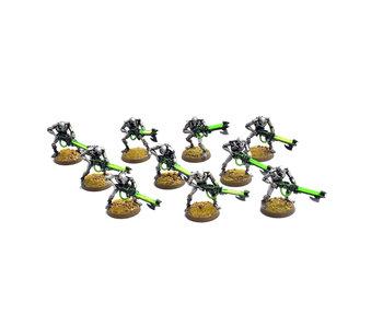 NECRONS 12 necron warriors #1 WELL PAINTED 40K