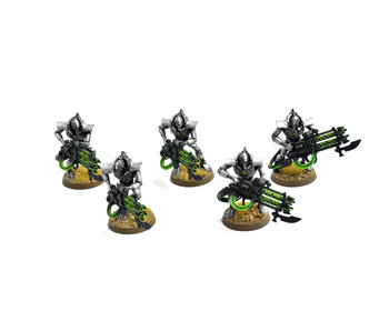 NECRONS 5 immortals #1 WELL PAINTED Warhammer 40K