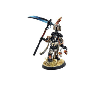 Legions of the Damned Captain with scythe Converted #1 PRO PAINTED Warhammer 40K