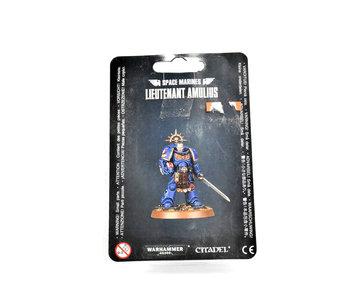 SPACE MARINES Lieutenant Amulius Warhammer 40K in blister