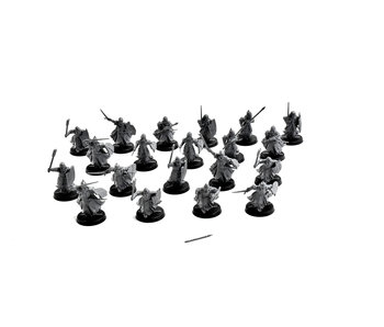 LOTR 20 warriors of the dead #1 Middle Earth Games Workshop Army