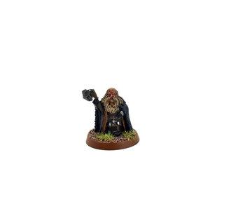 LOTR Dwarf king #2 METAL Middle Earth Games Workshop