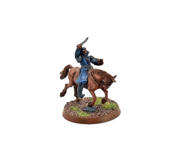 THE HOBBIT Thorin Oakenshield mounted converted #1 Middle Earth Games Workshop