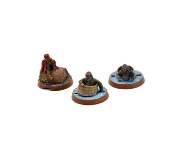 THE HOBBIT Barrels out of bond 2 dwarfs and Bilbo #1 Games Workshop