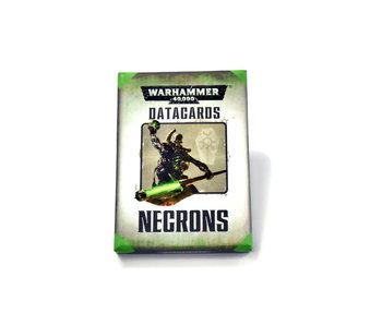 NECRONS datacards #1 Warhammer 40K