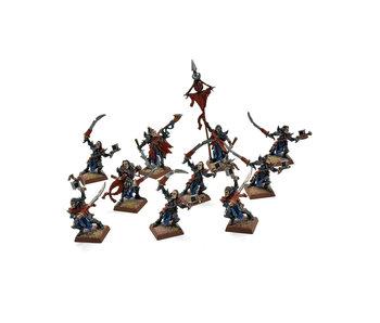 Dark Elves 10 Mengil Manhide Manflayers #1 METAL Fantasy