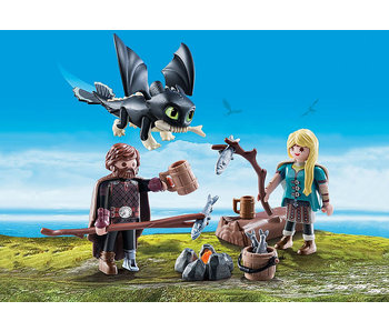Hiccup and Astrid Playset (70040)