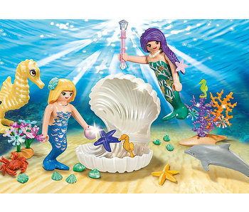 Magical Mermaids Carry Case (9324)