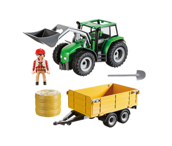 Tractor with Trailer (9317)