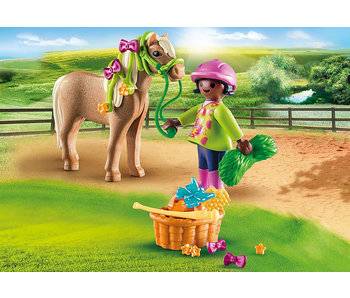 Girl with Pony (70060)