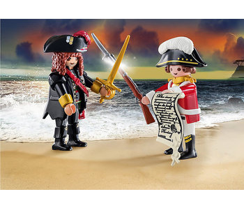 Pirate and Redcoat (70273)