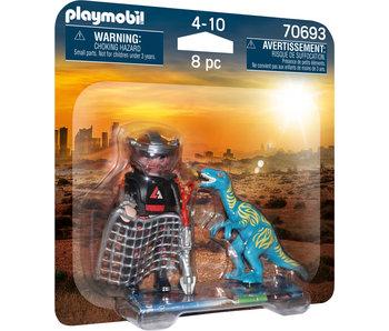 DuoPack Velociraptor with Dino Catcher   (70693)