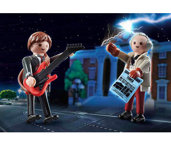 Back to the Future Marty Mcfly and Dr. Emmett Brown (70459)