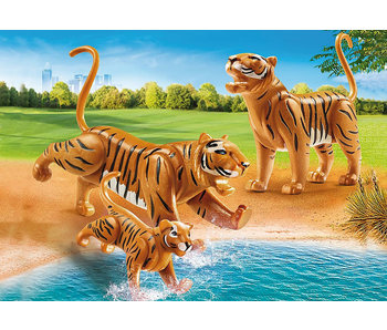 Tigers with Cub (70359)