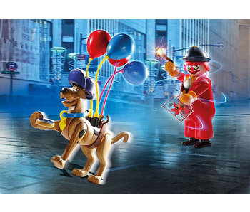 SCOOBY-DOO! Adventure with Ghost Clown (70710)