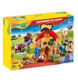 Playmobil 1.2.3 Advent Calendar - Christmas Manger (70259)