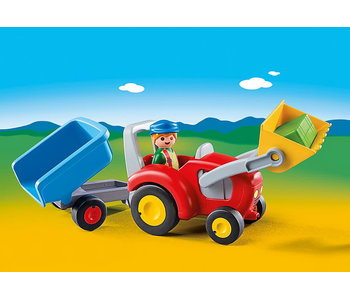Tractor with Trailer (6964)
