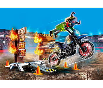 Stunt Show Motocross with Fier (70553)