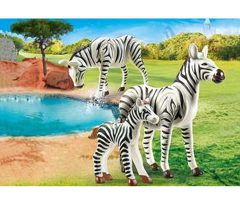 Zebras with Foal (70356)