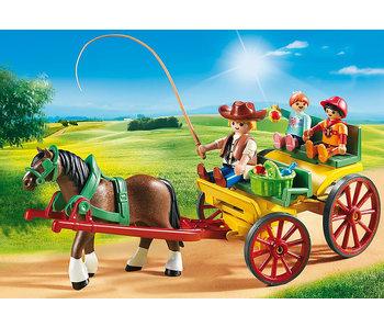 Horse-Drawn Wagon (6932)