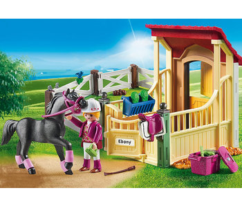 Horse Stable with Araber (6934)
