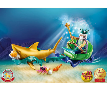King of the Sea with Shark Carriage (70097)