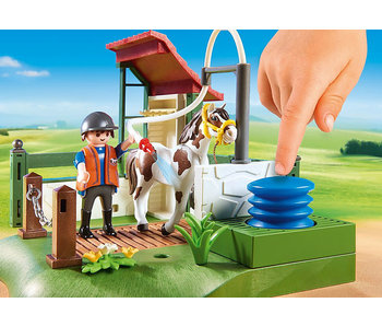 Horse Grooming Station (6929)