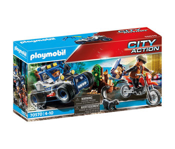 Police Off-Road Car with Jewel (70570)