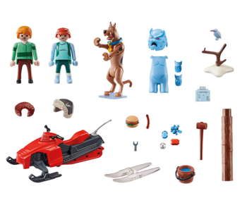 SCOOBY-DOO! Adventure with Snow Ghost (70706)