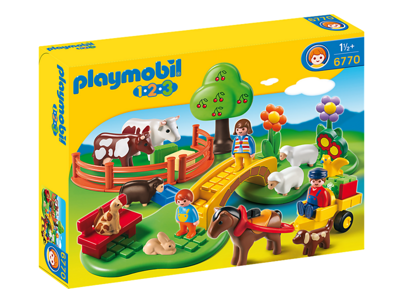 Playmobil 1.2.3 Countryside (6770)