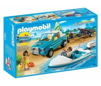Pick-Up with Speedboat (70534)