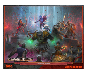 Gloomhaven Puzzle - The Black Barrow 1000Pc