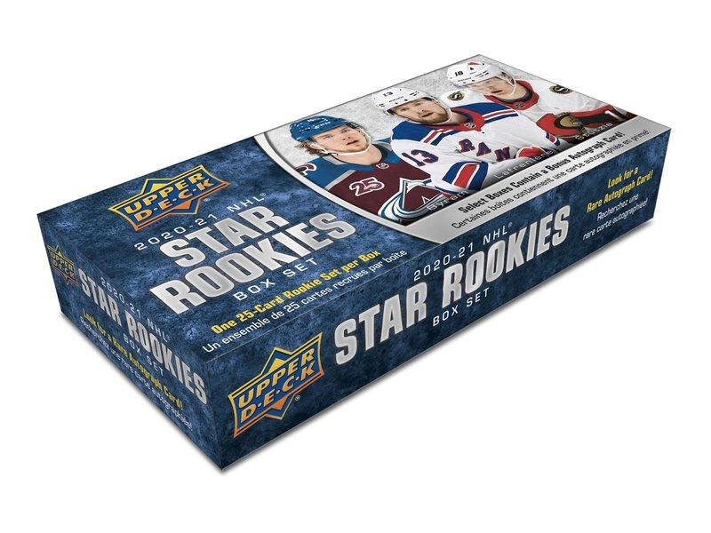 2020‐2021 Upper Deck NHL Rookie box Set