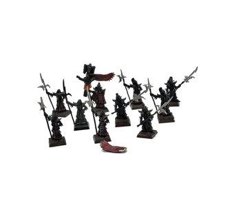 Dark Elves 10 Black Guards #3 METAL Warhammer Fantasy
