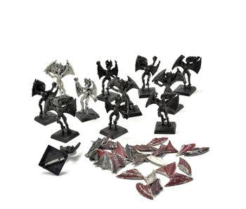 Dark Elves 12 Harpies #1 METAL Warhammer Fantasy