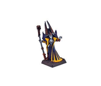 Dark Elves Classic Sorceress #3 WELL PAINTED METAL Warhammer Fantasy