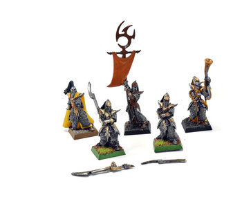 Dark Elves 5 Executionners #2 METAL Warhammer Fantasy