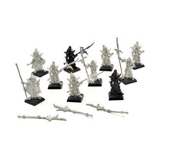 Dark Elves 10 Black Guards #1 METAL Warhammer Fantasy