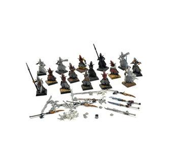 Dark Elves 15 Warriors Spearmen Crossbowmen #3 Warhammer Fantasy