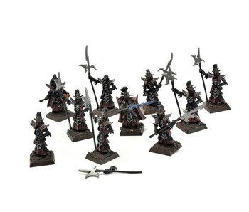 Dark Elves 10 Black Guards #2 METAL Warhammer Fantasy