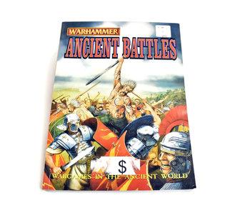 ANCIENT BATTLES Rulebook Warhammer Fantasy  Book