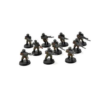 ASTRA MILITARUM 10 Cadian Shock Troops #4 Warhammer 40K