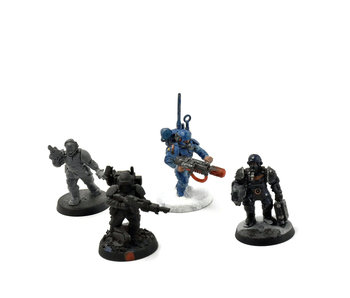 ASTRA MILITARUM 4 Cadian Shock Troops with Special Weapons #5 40K
