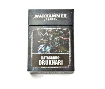 DRUKHARI 8th Edition Datacards Warhammer 40k