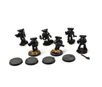 SONS OF HORUS 6 Reavers Attack Squad Forge World