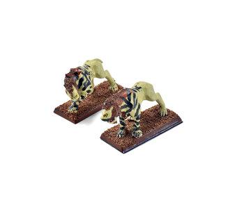 OGRE KINGDOMS 2 Sabretusks #1 METAL OOP Warhammer Fantasy