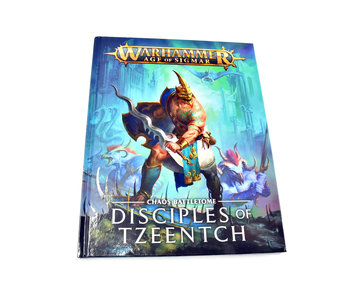 DISCIPLES OF TZEENTCH Battletome Warhammer Sigmar