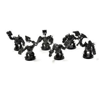 ORKS 6 Nobz #1 Warhammer 40k